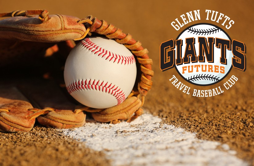 GLENN TUFTS GIANTS FUTURES TRAVEL BASEBALL 2017-2018